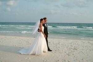 Svajonių vestuvės ant jūros kranto