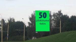 Reklaminiai stendai keliuose ir mieste