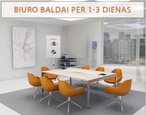 Biuro baldai, kurių reikėjo vakar