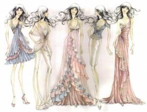 Idealios suknelės pagal figūros tipą