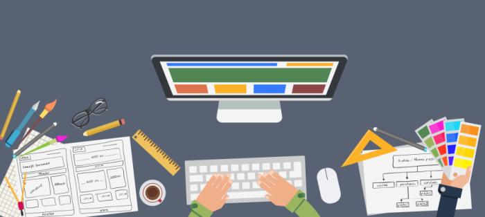 Šiuolaikiškas WEB dizainas ir intuityvus įmonės reprezentacinis tinklalapis