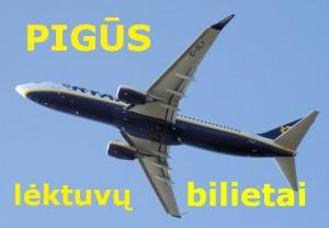 Pigūs lėktuvo bilietai – smūgis kelionių agentūroms