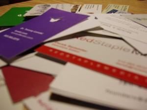 Vizitinės kortelės – paprastas būdas pristatyti save